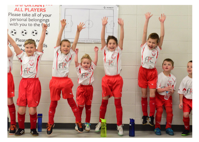 U8 last match of indoor season