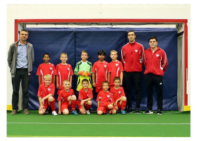 U11 last game of indoor season