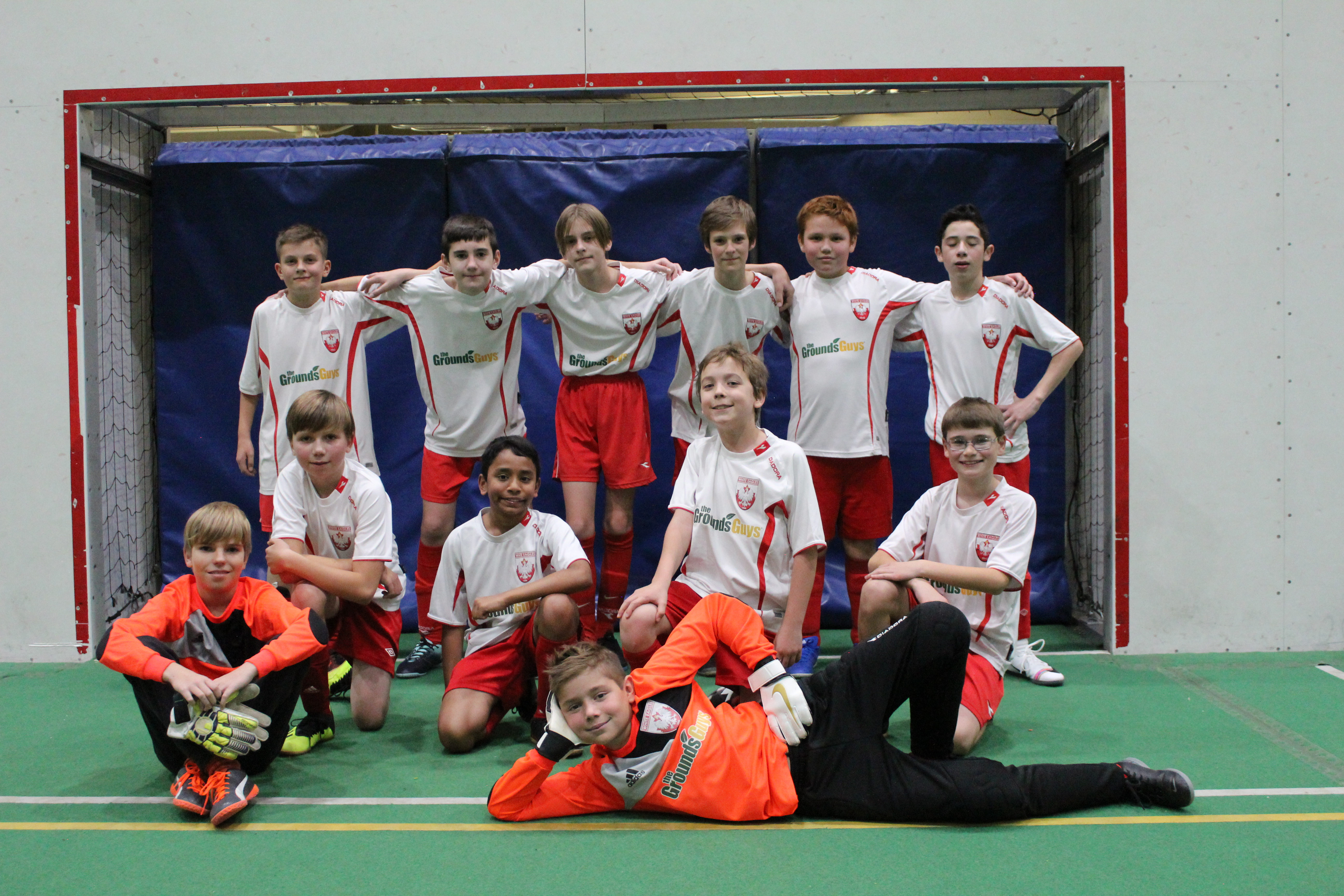 Great start to the indoor season by U13 team!